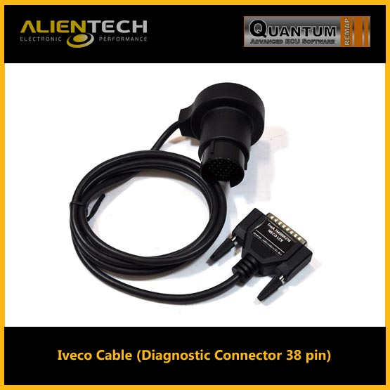 alientech kess, kess alientech, kess remap, alientech kess v2, kess v2 software, kess v2 tuning files, kess v2 price, kess v2 slave, kess v2 review, alientech, iveco cable (diagnostic connector 38 pin)