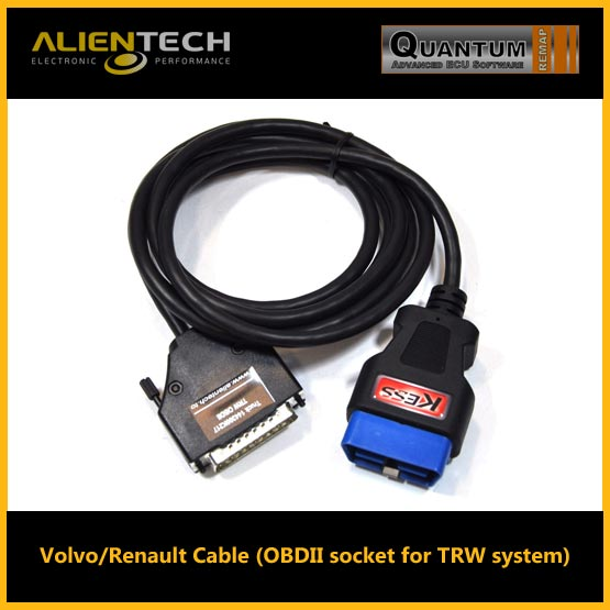 alientech kess, kess alientech, kess remap, alientech kess v2, kess v2 software, kess v2 tuning files, kess v2 price, kess v2 slave, kess v2 review, alientech, volvo/renault cable (obd II socket for trw system)