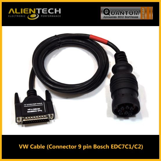 VW Cable (Connector 9 pin Bosch EDC7C1/C2) - Alientech Tuning Software and  Remapping Tools