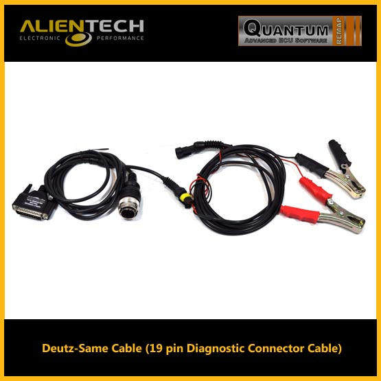 alientech kess, kess alientech, kess remap, alientech kess v2, kess v2 software, kess v2 tuning files, kess v2 price, kess v2 slave, kess v2 review, alientech, Deutz-Same Cable (19 pin Diagnostic Connector Cable)